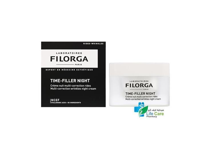 FILORGA TIME FILLER NIGHT 50 ML - Life Care Pharmacy
